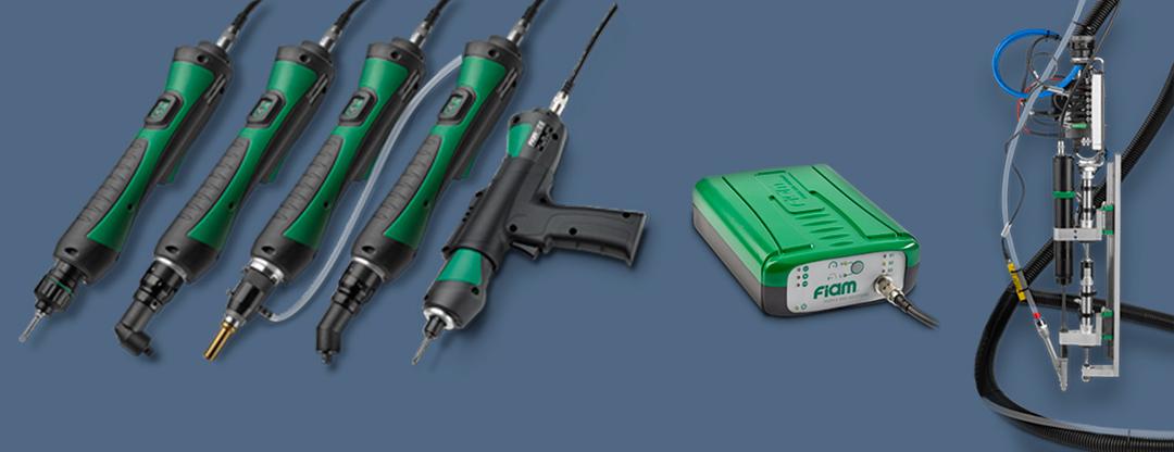 Visseuses électriques et broches électriques de vissage eTensil : une gamme en évolution
