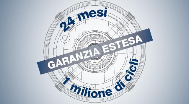 Garanzia estesa a 24 mesi oppure a 1 milione di cicli: eTensil conferma il proprio rigore costruttivo
