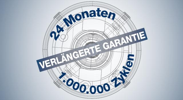 Auf 24 Monate oder 1 Million Zyklen verlängerte Garantie: eTensil bestätigt seine strengen Konstruktionsrichtlinien