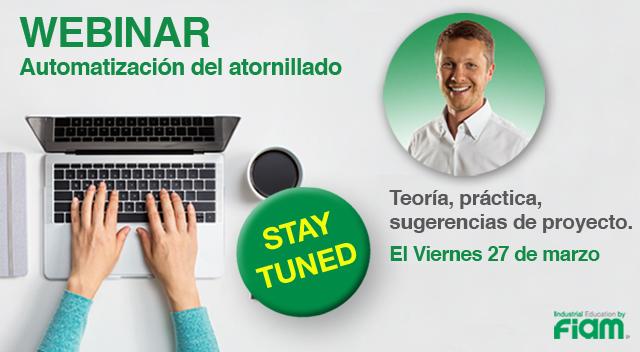Nuevo SERVICIO WEBINAR by Fiam!