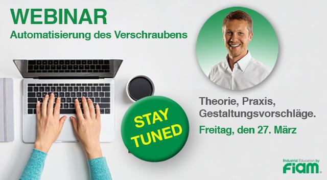 Neue WEBINAR-SERVICE by Fiam!