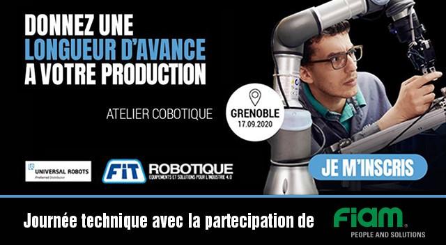 Journée technique « ROBOTIQUE COLLABORATIVE » à Grenoble