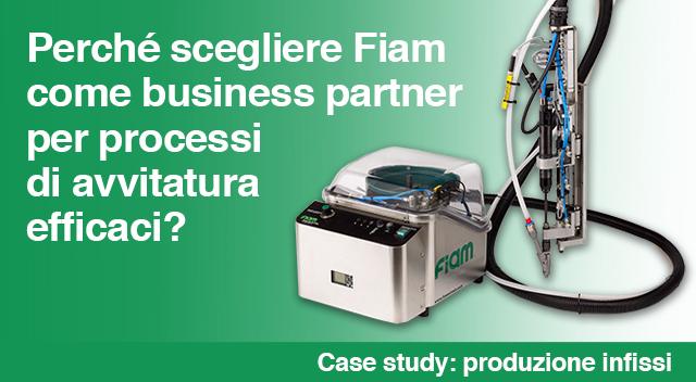 Perché scegliere Fiam come Business partner per processi di avvitatura efficaci?