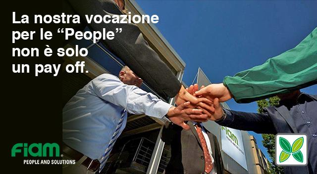 """La nostra vocazione per le """"People"""" non è solo un pay off"""