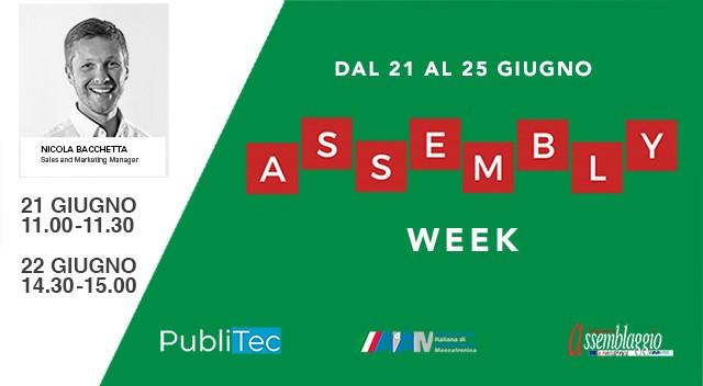 Fiam presente all'Assembly Week!